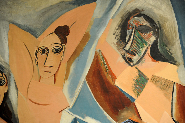 Compare and Contrast Between Pablo Picasso's Les Demoiselles Essay