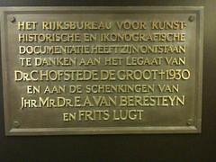 Photo of Bronze plaque number 12633