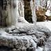 Циповский водопад зимой Tsipovsky Falls in winter - Tipova - Moldova