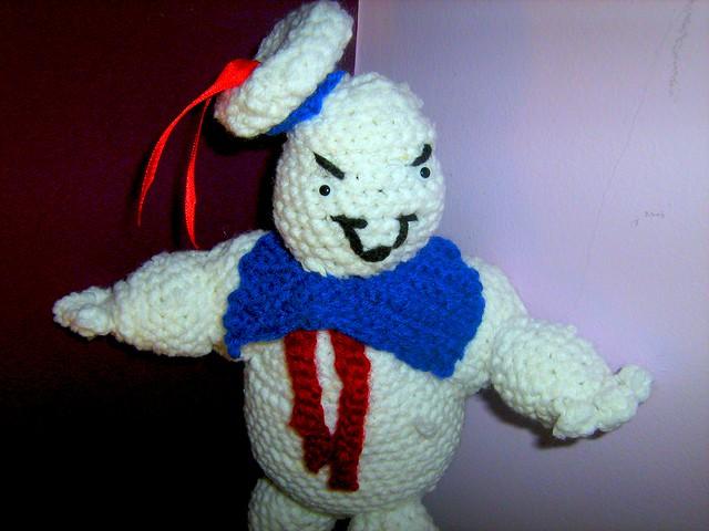 Ghostbusters Amigurumi Pattern : marshmallow man amigurumi Flickr - Photo Sharing!