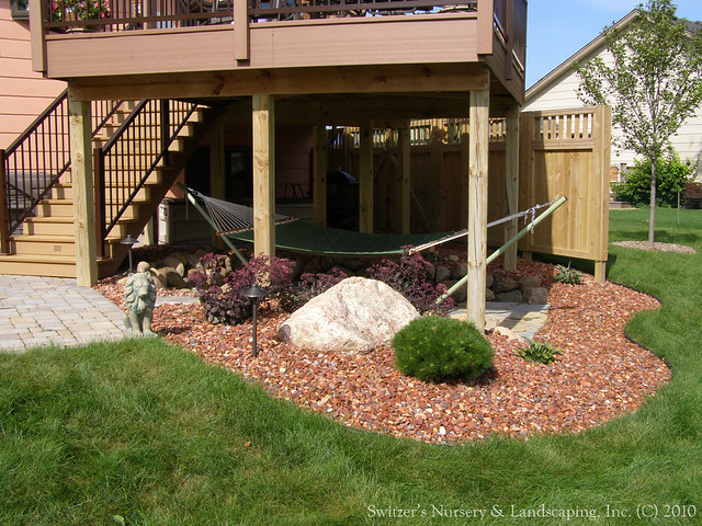 Incorporating The Space Under The Deck Can Make The Maintenance That Much  Easier. The Space