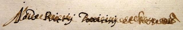 Header of Riccius
