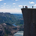 Base Jumping at Preikestolen