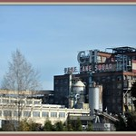Sugar plant at Crockett Ca. From California Zephyr