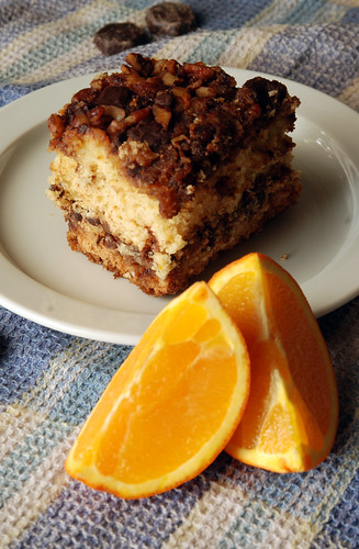 Sour Cream Chocolate Orange Coffee Cake