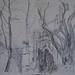 St Janskerk, Gouda, 30th International Sketchcrawl by mlharley