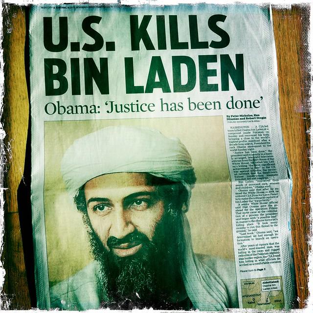 U.S. Kills Bin Laden