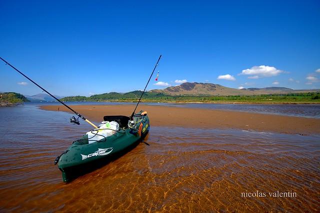 Kayak fishing loch lomond watch the river ride leading for Loch lomond fishing