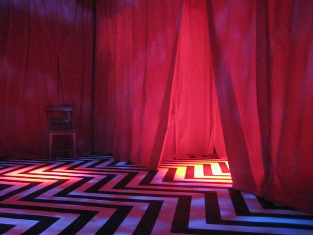 Twin Peaks Red Room Logo