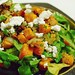 roasted squash and arugula salad with pecans, bacon, and goat cheese by kimhaseightcats