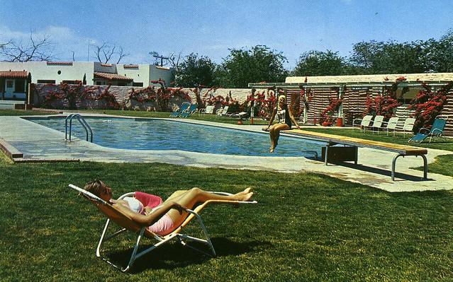 Del camino motor hotel el paso tx 4900 block alameda for The garden pool el paso