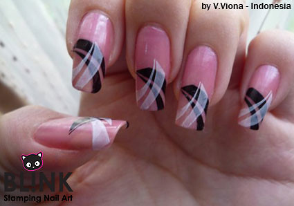 Nail art a gallery on flickr blink stamping nail art bsna japanese nail art prinsesfo Gallery