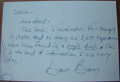 Postcard from Dave Barry