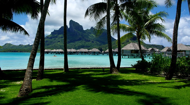 Four Seasons Resort Bora Bora Coconuts Garden