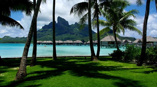 Four Seasons Resort Bora Bora Coconuts Garden