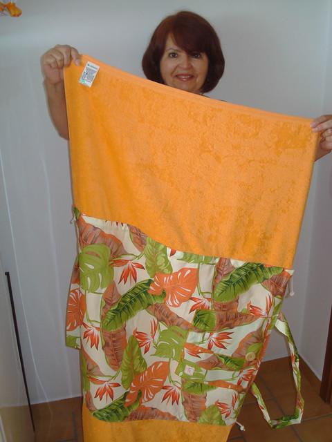 Bolsa De Praia Feita De Tecido : Bolsa toalha feita de toalhas praia e tecidos