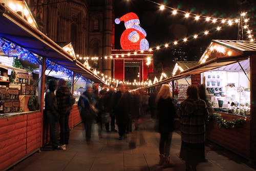 Manchester Christmas Markets picture by Flickr user fussy onion