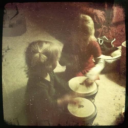 drums hailey cadence bongos views25 project365kids offflash hipstamatic floatfilm bettiexllens