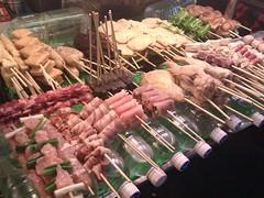 market, meat, churrasco food, food, dish, cuisine, cooking,