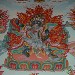 Paintings Inside the Tibetan Buddhist Gompa - Upper Pisang, Nepal