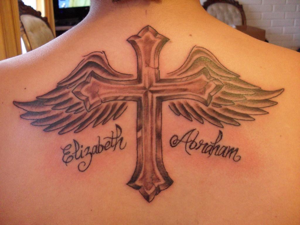 Tatuaje Cruz Con Alas Pablo Miranda Flickr
