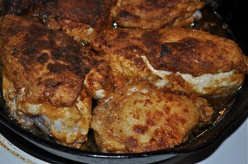 chicken pan-fried with buttermilk 20