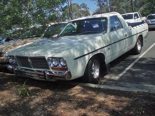 1977 Chrysler CL Valiant utility