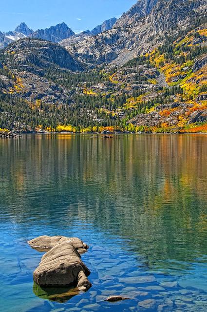 Lake Sabrina Fall Color 2