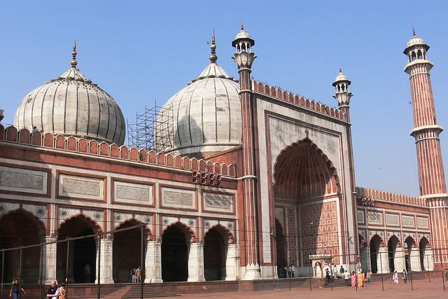 Jumma Masjid In Delhi