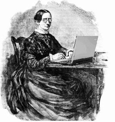 Stern Woman Blogger