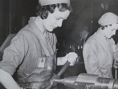 Women working during world war 2