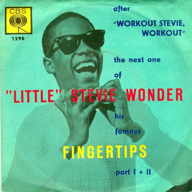 Wonder, Little Stevie - 1 -  Fingertips Part 1+2 - D - 1963