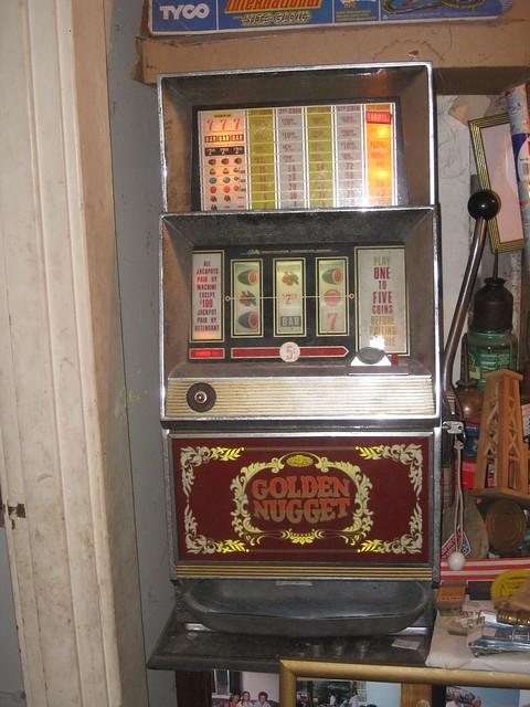 vintage bally triple 7 slot machine
