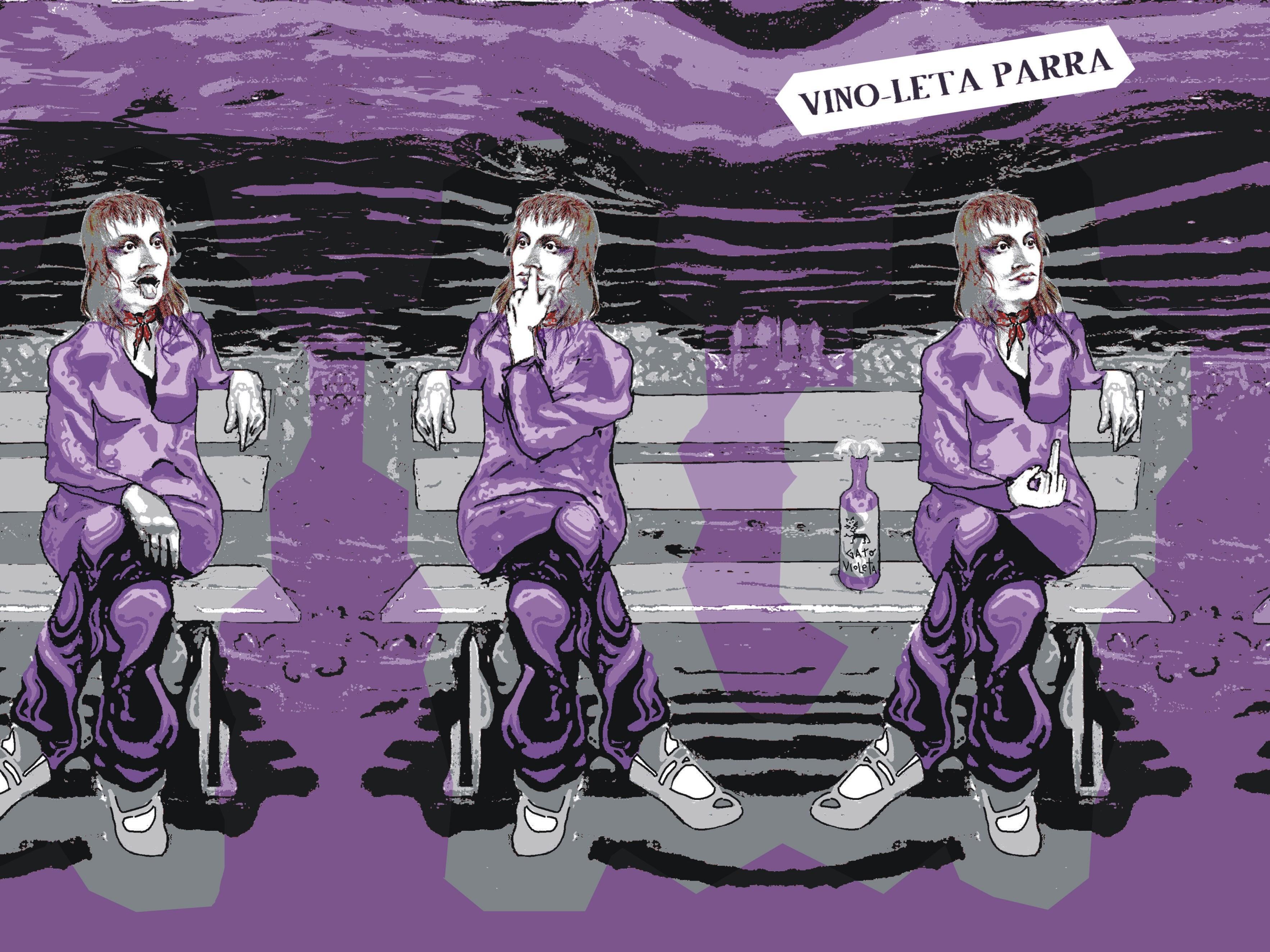 VIOLETA PARRA x CUECA y TONADA