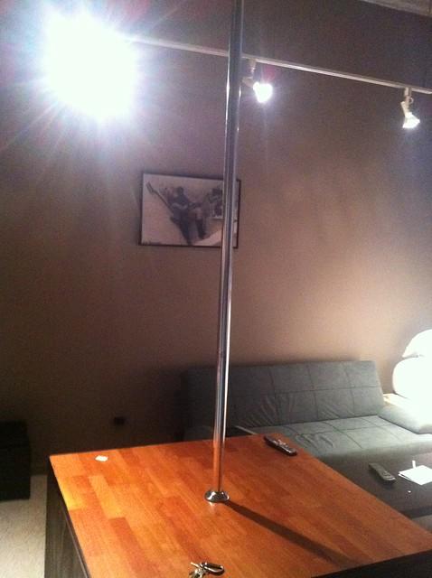 What diameter is a stripper pole
