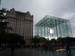 The Plaza Hotel New York & Apple Store