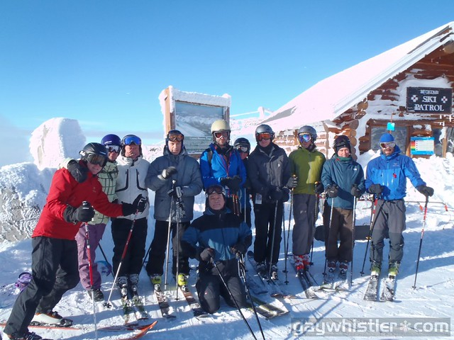 Travelocity Ski Guide Training for WinterPRIDE 2011