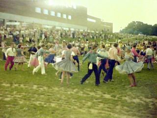 Large Square Dance