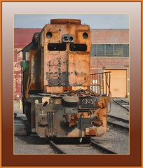 BNSF SD40-2 6851  Denver Co.    ( 2 Views )