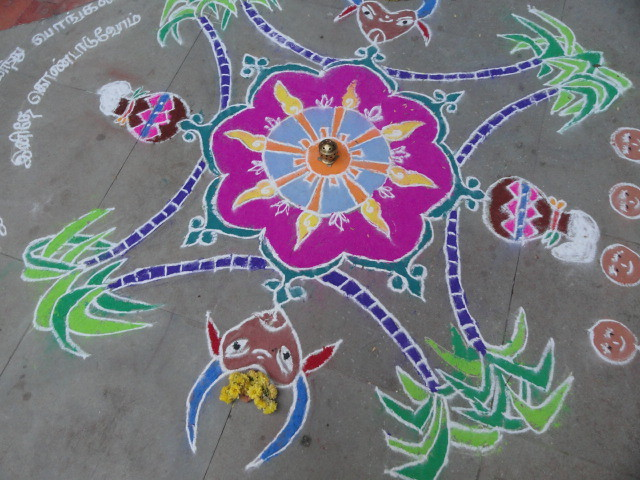 Rangoli Designs In Color(PICS) | TalkGirly
