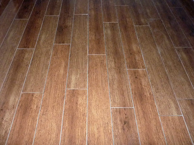 Carrelage imitation parquet flickr photo sharing for Plaque de carrelage adhesif