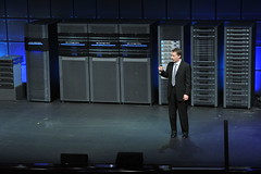 Pat Gelsinger with EMC family of products