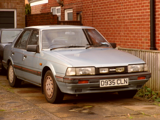 1987 Mazda 626 2.0 GLX Automatic Saloon. | Flickr - Photo Sharing!