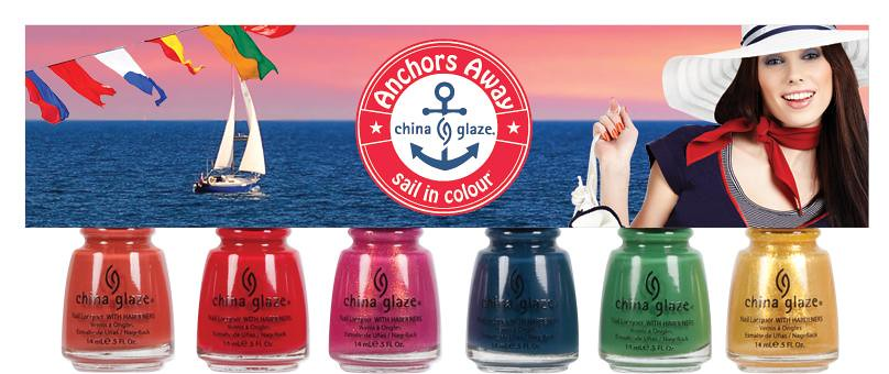 Nova colecao China Glaze - Anchors Away