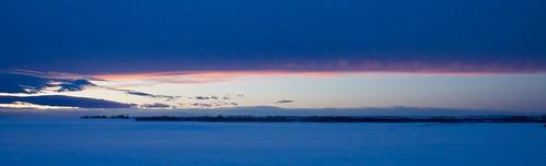 sunset snow field chinookarch 18270mm