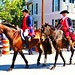 Small photo of Ligonier parade, horses