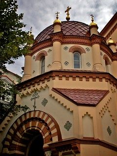 Imageof St. Paraskeva Church. church architecture europe orthodox lithuania vilnius lietuva geo:lat=5467997 geo:lon=2528874 osm:way=61979743