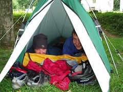 Our little KIMMlite Sub-Kilo tent is use at Les Chapieux Image