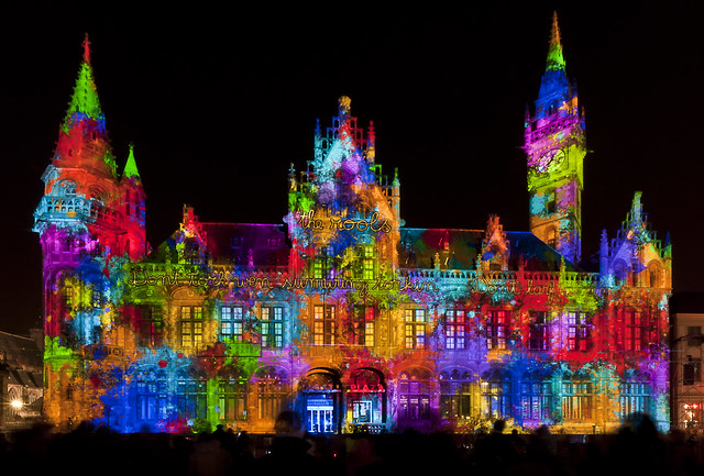 Gent by night / Lichtfestival
