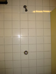 wall, room, line, interior design, plumbing fixture, shower, tile, bathroom,